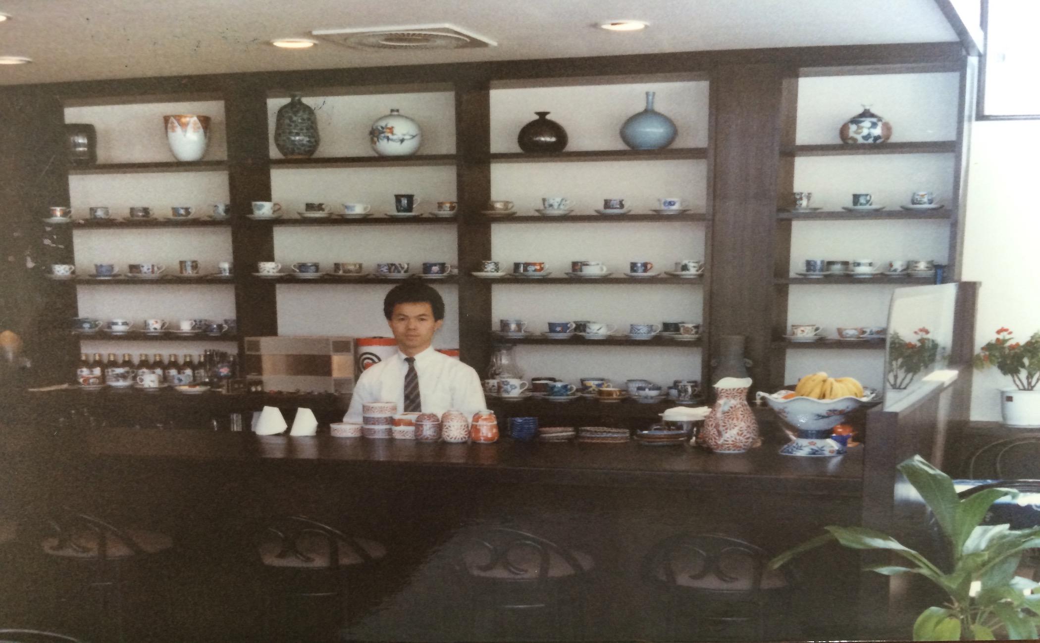 創業当時(1986年)の写真